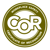Workplace Safety Certificate of Recognition